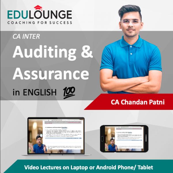CA Inter Audit English
